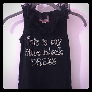 Dresses & Skirts - Girls blinged out little Black Dress